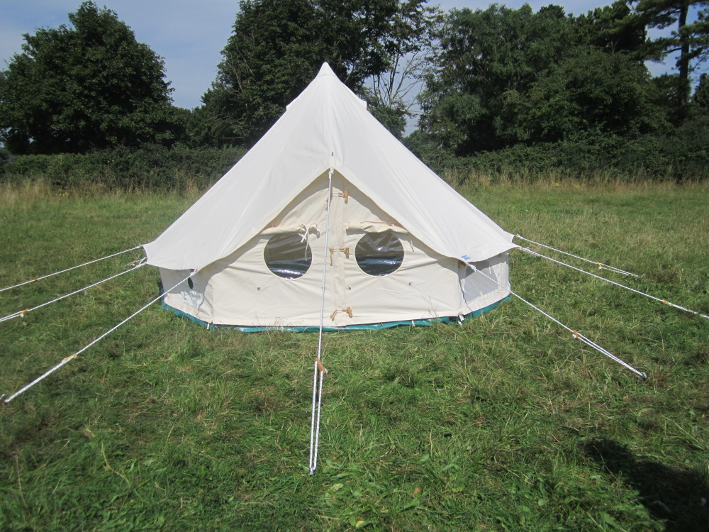 4.5m Bell Tent & Welcome to the World of Bell Tents from Podpads | Podpads Canvas