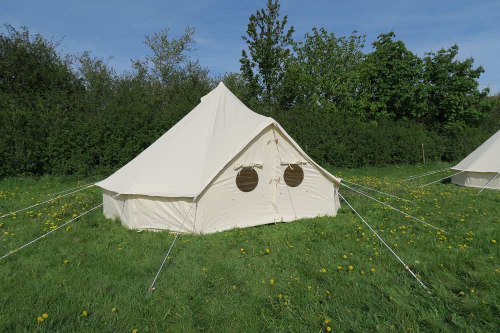 4m Bell Tent & Welcome to the World of Bell Tents from Podpads | Podpads Canvas