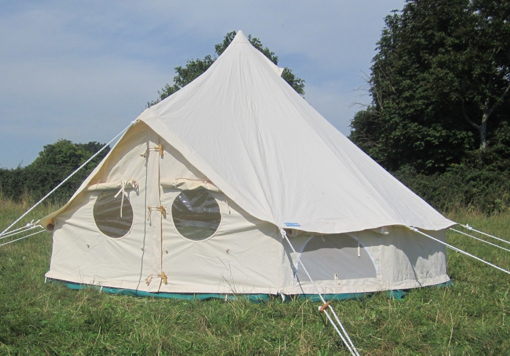 6m Bell Tent & Welcome to the World of Bell Tents from Podpads | Podpads Canvas